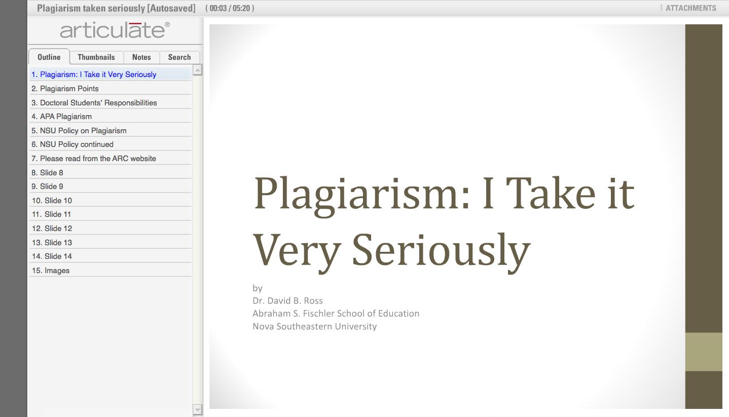 articulate presentations